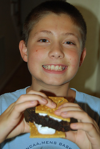 Peter and His Custom Smore
