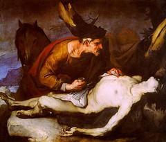 Luca Giordano, Le Bon Samaritain, 1685.