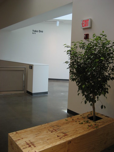 """""""Ex It"""" by Yoko Ono at American University Museum 9/13/08 - 5 by you."""