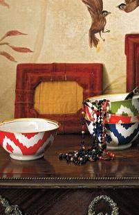 anthro ikat bowls