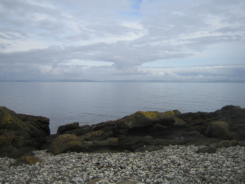 Arran coast path