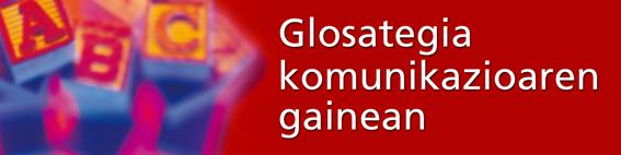 Glosategiaren logoa