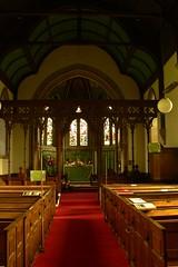 Birdingbury - St Leonard's interior