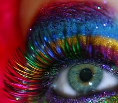 (wisely-chosen) Tags: selfportrait macro eye me rainbow october colorful metallic makeup 2008 picnik falseeyelashes drhauschkablackmascara mineralglowshimmeryglitterg5green manicpanichothotpink mineralglowshimmeryglitterg14purplepassion mineralglowshimmerypowder56goldenlava mineralglowshimmerypowder35hotpink mineralglowshimmerypowder37bluesubmarine