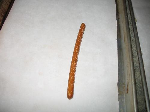 Pretzel rod