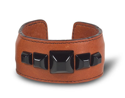 leather HH cuff