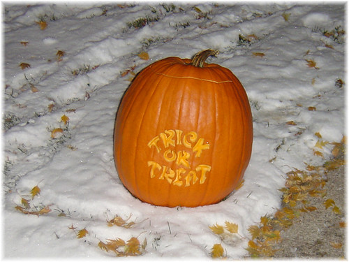 Jack O Lantern-Trick Or Treat