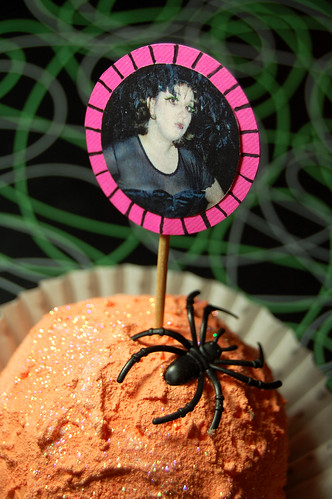 witchy cupcake pick