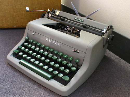 "Royal Quiet DeLuxe c. 1953, aka ""Etta"""