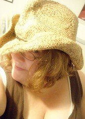 Day 271. (Sheri is Ridiculous) Tags: me hat 365 cowgirl cowboyhat fugger fgr