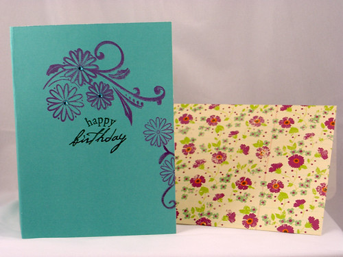 Bookmark B'Day Card inside and envelope