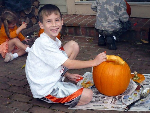 Jack-O-Lantern Production at the Wilsons