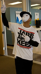 Jabbawockeez (bry804) Tags: halloween sign digital america office dance costume october peace contest best company crew impact peacesign acxiom jabbawockeez abdc americasbestdancecrew adhalloween