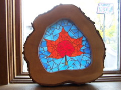 Maple (barry_thmpsn) Tags: maple mosaic stainedglass mapleleaf stainedglassmosaic