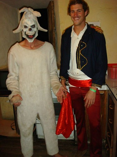 Halloween at the Loki Hostal 2008.