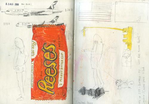 NY sketchbook