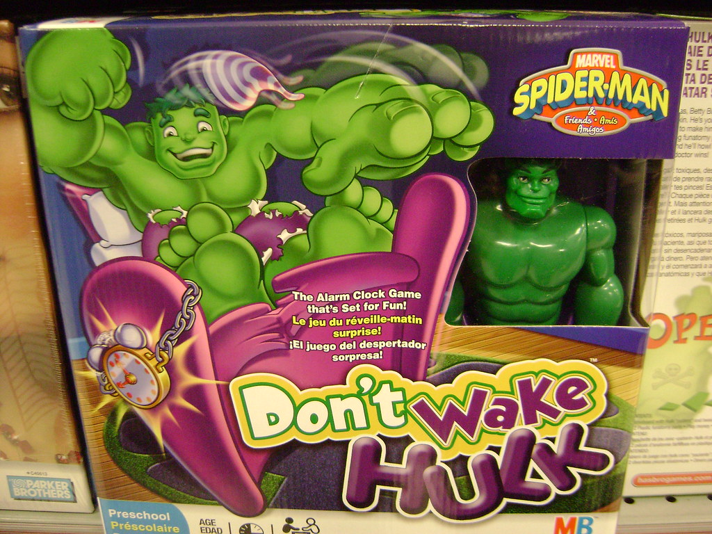 Marvel's Don't Wake HULK game