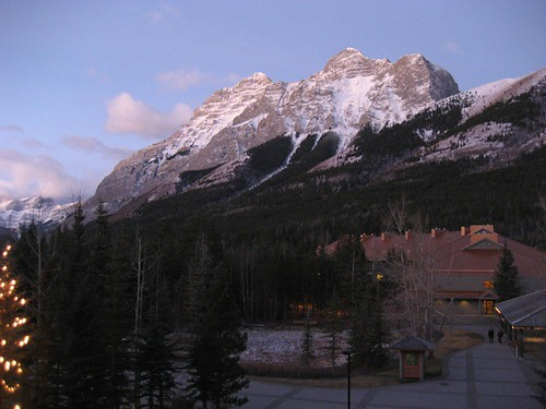 View from our room, Delta, Kananaskis