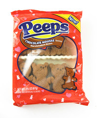 Peeps Chocolate Mousse Bears