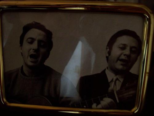 Silvano Spadaccino e Paolo Villaggio