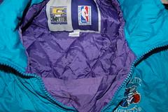 Charlotte Hornets Coat (American) (Clothes Mountain) Tags: sports coat nike retro jacket nylon waterproof windbreaker padded umbro windrunner