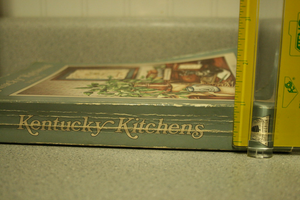 """Cookbook 1"""" thick or 2.3 cm"""