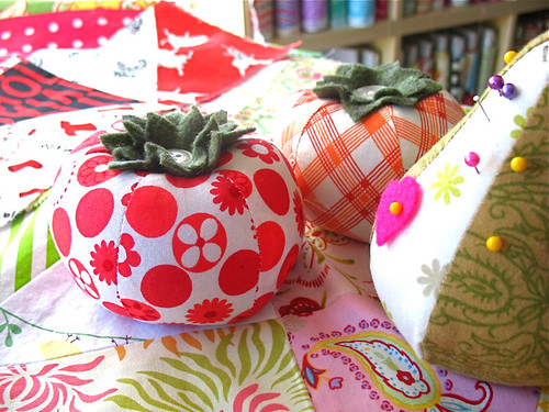 Heather Bailey Pin Cushions