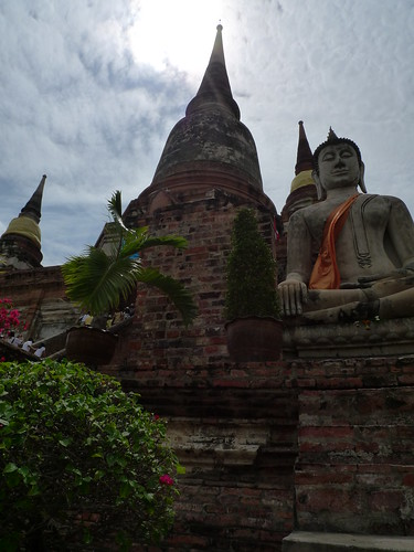 大きな仏塔