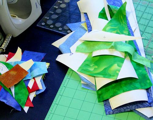 Dolls' quilt swap - part 2