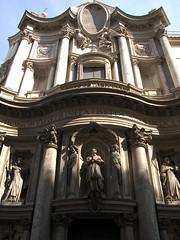 San Carlo alle Quattro Fontane facade