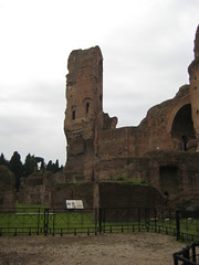 Baths Pillar (SeymourSolo) Tags: italy rome baths caracalla