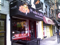 99 miles to philly - philly cheesesteaks east village new york