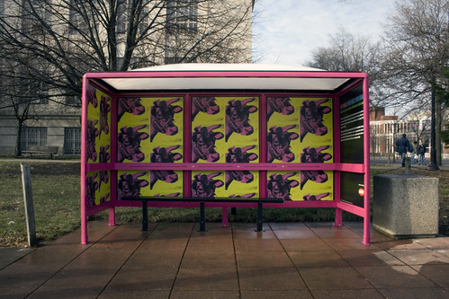 Warhol Bus Shelter