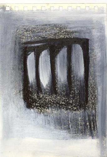 Pencil + gesso 06
