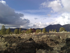 sunset crater landscape (rwiedower) Tags: sunset cone crater cinder