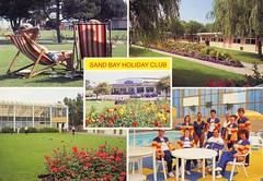 Pontins Sand Bay Holiday Camp (trainsandstuff) Tags: vintage postcard retro archival weston pontins holidaycamp sandbay holidaycamps sandbayholidaycamp
