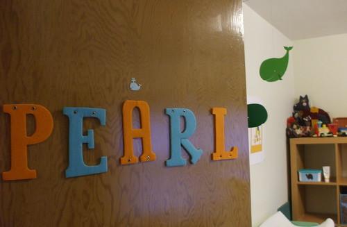 Pearl's room