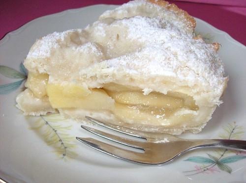 Apple pie al bergamotto