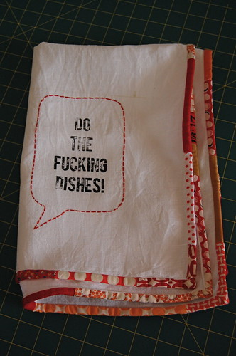 tea towel swap