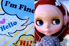 Hi! Hello <3 I'm Fine. -dolly diptych weekly six-