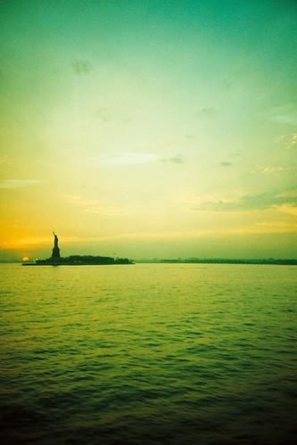 liberty dusk
