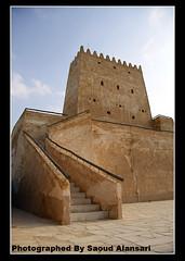 Barzan Tower . . قلعة برزان (سـ ع ـود الانصاري ~) Tags: tower ام doha qatar محمد barzan قطر الدوحة قلعة برزان صلال