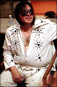 Ever wondered what Elvis would look like today? SFs Extreme Elvis gives you an idea.
