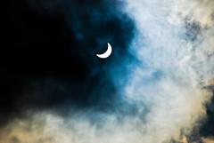 Solar eclipse (summerrunner) Tags: summer cloud nikon flickr taiwan july explore event adobe taipei nikkor 2009 生活 lightroom explored d80 55~200mm