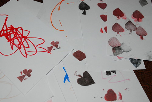 diy playing cards