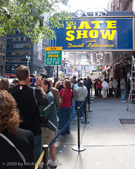 Waiting In Line to See What Dave Is Going To Say (Michael Pancier Photography) Tags: nyc newyorkcity ny newyork manhattan cities midtown streetscenes cbs lateshowwithdavidletterman seor edsullivantheater midtownmanhattan g10 floridaphotographer michaelpancier michaelpancierphotography landscapephotographer wwwmichaelpancierphotographycom seorcohiba