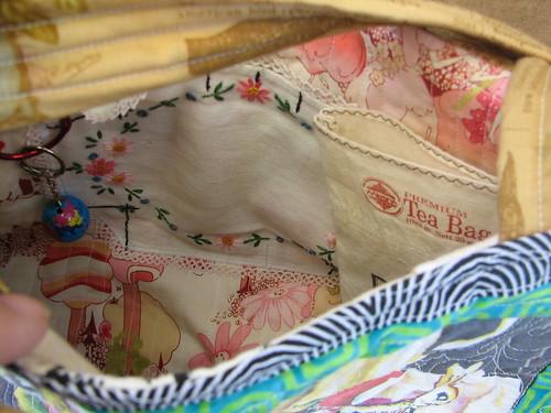 inside tea bag for cell phone