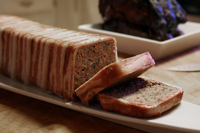 Pâté de Campagne (Duck and Lamb with Porcini Mushrooms)