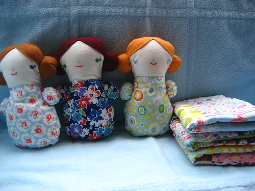 Sleepover dolls and quilts