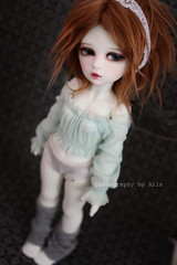 The new Selig (Ala) Tags: angel wings doll tiny bjd yosd hellena sugarble